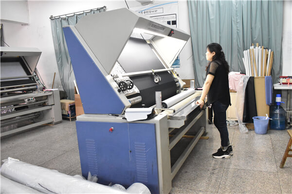 cloth inspecting machine